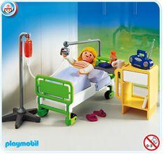 Jugaba con una versión más antigua de esta habitación de hospital
