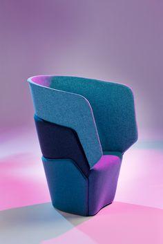 Barca Unique Chair Design Idea by Jakob Joergensen  chair