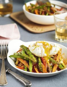 10 menús diarios de la dieta saciante Veggie Recipes, Salad Recipes, Dinner Recipes, Cooking Recipes, Healthy Recipes, Healthy Food, Clean Eating, Food Porn, Food And Drink
