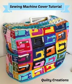 Quilty Creations: Sewing Machine Cover Tutorial