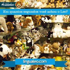Em quantos segundos você encontra o Leo?