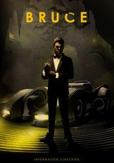 Batman, Bruce Wayne