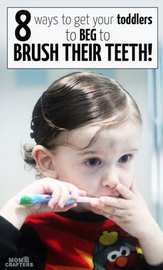 Got a toddler who resists brushing her teeth? Read these mom to mom tooth brushing tips for toddlers - positive parenting has never been more effective!