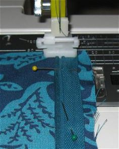 How to Sew an Invisible Zipper Step by Step Instructions and Photos: Sewing the Invisible Zipper