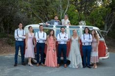Fun and unique transport played a big part in their day with a Vintage Red Kombi and sunset cruise on Noosa River to their reception at Noosa Boathouse. Wedding Cars, Sunshine Coast, Bridesmaid Dresses, Wedding Dresses, Anton, Real Weddings, Reception, Photography, Inspiration