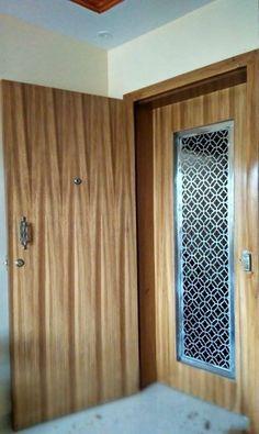 Best Door - Window Design in India Wooden Door Entrance, Door And Window Design, Jalli Design, Tv Cupboard Design, Window Design, Wooden Doors Interior, Bedroom Door Design, Door Design Interior, Wooden Main Door