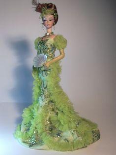 Barbie Paris Belle Artist Creations Italian O.O.A.K. Fashion Dolls by Alessandro Gatti e Giuseppe De Bellis