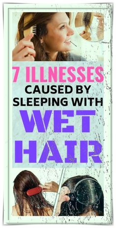 Many of us have the habit of going to bed with wet hair. However, you should know that this is a huge mistake. In fact, sleeping with wet or even damp hair can be the cause of many health problems. This does not, however, mean that you will catch a cold or pneumonia bit there are some other health issues that might arise. Facial Hair Removal Cream, Face Hair Removal, At Home Hair Removal, Hair Removal Remedies, Hair Removal For Men, Sleeping With Wet Hair, Electrolysis Hair Removal, Tips For Growing Tomatoes, Remove Unwanted Facial Hair