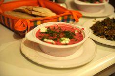 Cold Betroot Soup using Kefir, Beets and Raw Cucumber. Pink Soup / Šaltibarščiai