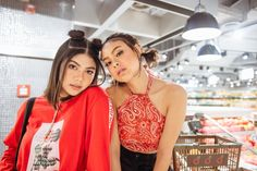 Shooting vlogger besties, Hannah Pangilinan and Janina Vela, as this month's felt like I had front-row access to an exclusive episode. Hannah Pangilinan, Front Row, Besties, October, Girls, Women, Fashion, Toddler Girls, Moda