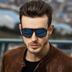 HDCRAFTER square sunglasses men polarized shield mirrored sun glasses for male driving man sunglasses eyewear goggle Hd Sunglasses, Oversized Sunglasses, Polarized Sunglasses, Mirrored Sunglasses, Vintage Sunglasses, Tony Stark, Glasses Brands, Outfit Trends, Eyewear
