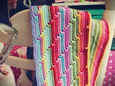 Free afghan pattern from Winkieflash - Simply Crochet
