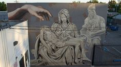 'Tribute to Michelangelo' by Levi Ponce ~ Reseda, CA