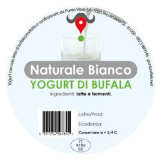 Yogurt di Bufala, gusto Naturale Bianco: http://www.puntovitale.net/shop/yogurt-di-latte-di-bufala/yogurt-bianco