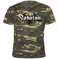"Classica T-Shirt uomo ""Inmate 4859"" dei #Sabaton."