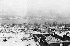 Aftermath of Halifax Explosion
