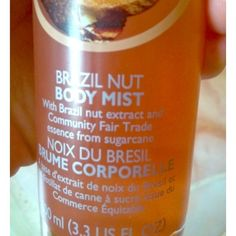 FREE when spent 20+ TBS basil nut body spray Used the body shop Brazil Nut body mist spray Gorgeous warm nutty smell! I decided to sell it because I prefer lotion. Can be a gift when you buy 3 items or spend over $20. Just ask. The body shop Other