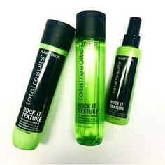 Want high-definition rock star style? Get #totalconfidence with Rock It Texture for 100% undone waves. #matrixhair