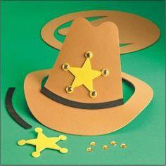 sombrero de vaquero con foami