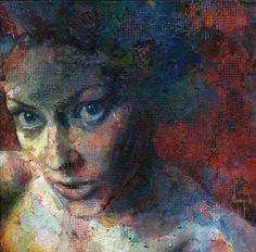 "Saatchi Online Artist David Agenjo; Painting, ""Naomi"" #art"