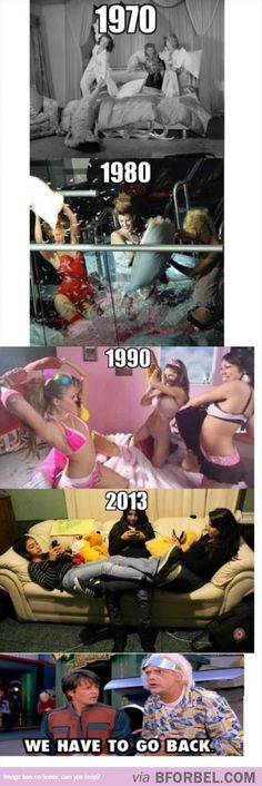 We Have To Go Back… to the fantasy of slumber parties