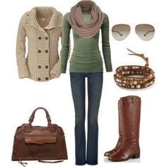 """""""Casual Fall Winter Outfit"""" by natihasi on Polyvore by SallyMiller"""