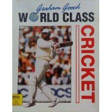 Graham Gooch World Class Cricket for Commodore Amiga from Audiogenic