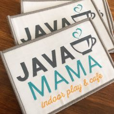 The cutest patches for Java Mama!!😁💕