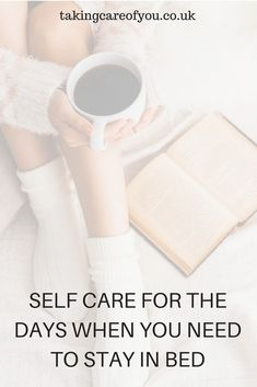 Self care ideas | Who doesnt love a duvet day? This doesn't mean that you should just lie in bed and stop taking care of yourself. This list of self care tips for days when you need to stay in bed may be just what the doctor ordered. Self care ideas | Self care tips | duvet day | Mental Health | Self care activities | duvet day ideas