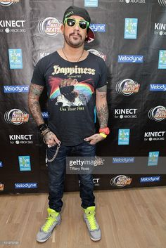 Musician AJ McLean of The Backstreet Boys attends the Xbox NBA Baller Beats VMA Lounge Presented By Velodyne For VH1 Save The Music Foundation at The Ritz-Carlton Residences at L.A. LIVE on September 6, 2012 in Los Angeles, California.