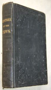 History of the Jews 1842