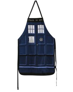 Doctor Who | TARDIS Apron - Tragic Beautiful buy online from Australia