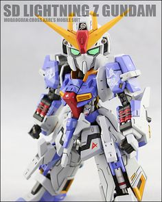[SD Gundam] SD Lightning Z Gundam (Built by Cross.Karl)