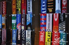 Soccer Scarf Wall Sporting KC