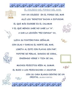 POESIAS DE GLORIA FUERTES – Leyendo leyendo, disfruto y aprendo Blended Learning, Text Quotes, Teaching Spanish, Spanish Language, Homework, Classroom, How To Plan, This Or That Questions, School
