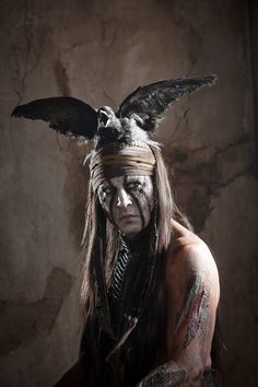 The Lone Ranger 2013 movie with Johnny Depp