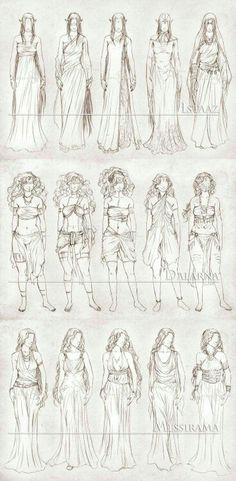 Roupas Fantasy Kunst, Fantasy Art, Design Reference, Drawing Reference, Anatomy Reference, Drawing Sketches, Art Drawings, Drawing Tips, Sketching