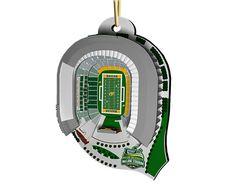 Baylor Mini Stadium Ornament