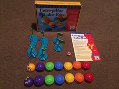 """Discovery Toys """"Caterpillar Color Race"""" game"""