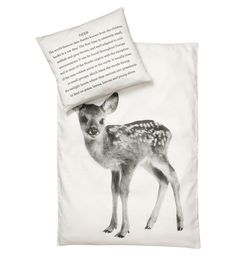 bedding set baby deer 70x100cm
