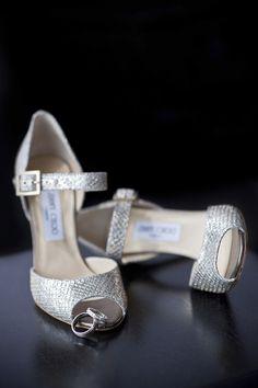 Shoes: Jimmy Choo; Photography: Photosynthesis Studio, Atlanta, GA c/o Grace Ormonde Wedding Style