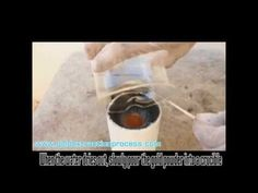 Gold extraction by smelting gold - YouTube