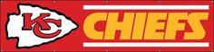 BKC Chiefs Giant 8-Foot X 2-Foot Nylon Banner