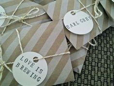 DIY Tea Favour Reveal! (: :  wedding diy favours tea Edited3