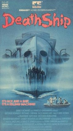 Embassy Home Entertainment VHS Covers: Death Ship