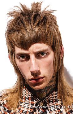 Kevin Luchmun – Men's Hairdresser of the Year 2017 Finalist Collection Modern Mullet Haircut, Boys Haircuts 2018, Mens Hairdresser, Mullet Hairstyle, Barnet, Long Hair Cuts, Dream Hair, Men's Grooming, Bob Hairstyles