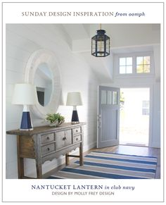 Home decor ideas small spaces nantucket decor, nantucket style, nantucket h Nantucket Decor, Nantucket Home, Nantucket Style, Coastal Decor, Coastal Living, Entry Foyer, Entryway Decor, Coastal Entryway, Front Entry
