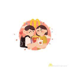 """""""就在路口那家麦当劳见吧""""相隔再远都没关系,因为到了那里,就能见到你。麦当劳是否也是,你们常相约见面的地方?"""