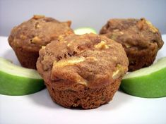 Apple walnut muffins - recipe is in Hungarian Apple Muffins, Hungarian Recipes, Small Cake, Muffin Recipes, Winter Food, Quick Bread, Caramel Apples, Food And Drink, Diet