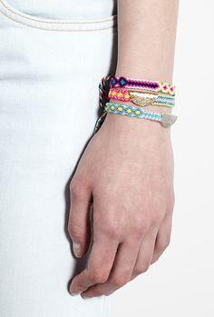 More Lucy Folk friendship bracelets